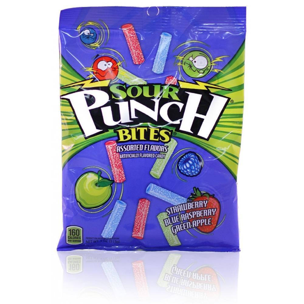Sour Punch, Bites, 4 Oz