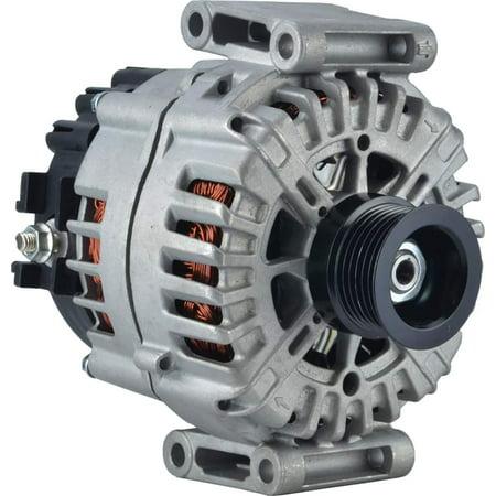 New DB Electrical 400-40134 Alternator for 3.5L 6 Clock 180 Amp Internal Fan Type Solid Pulley Type Internal Regulator CW Rotation 12V Mercedes Benz ML350 2008 2009 2010 2011 2012 2013 2014
