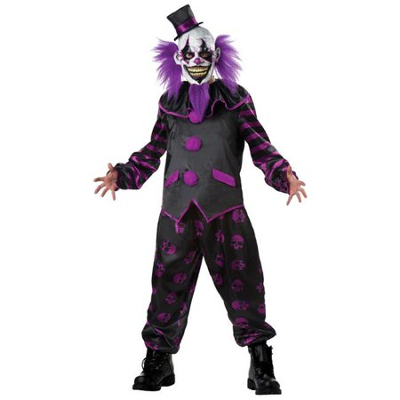 Bearded Clown Adult Costume, Extra Large - Bearded Clam Costume