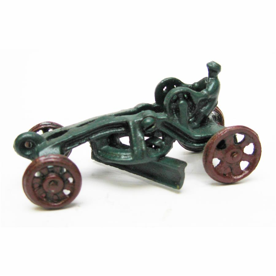 Road Grader Replica Cast Iron Farm Toy Tractor by Design Toscano