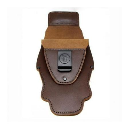 Urban Carry G2 Saddle Grade Leather Holster Laser, Brown, Captain, UC-G2-LS-Br-C (Laser Saddle)