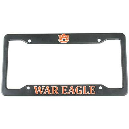 - Auburn Tigers Plastic License Plate Frame