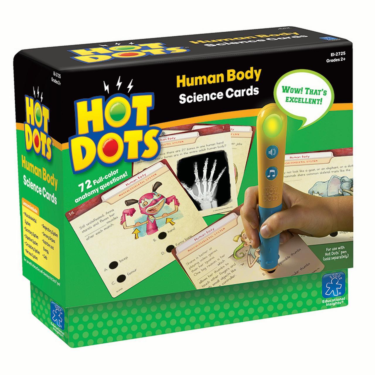 HOT DOTS SCIENCE SET HUMAN BODY