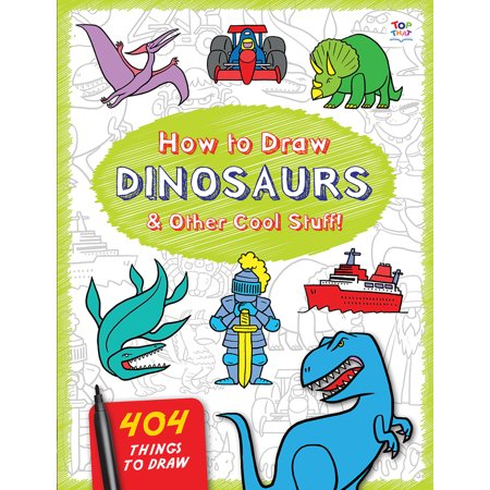 How to Draw Dinosaurs & Other Cool Stuff - Cool Stuff To Draw For Halloween