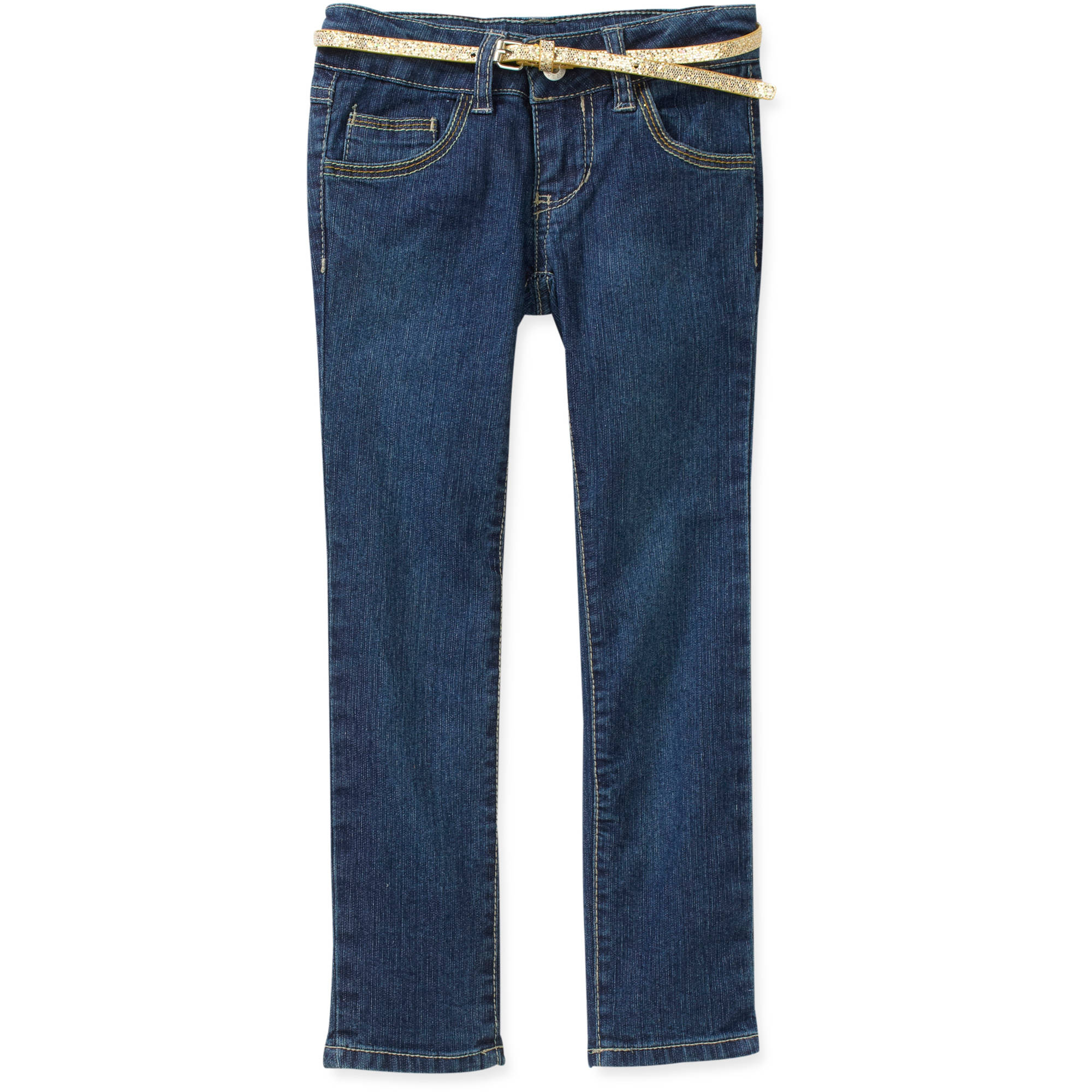 Faded Glory - Girls' Embroidery Skinny D