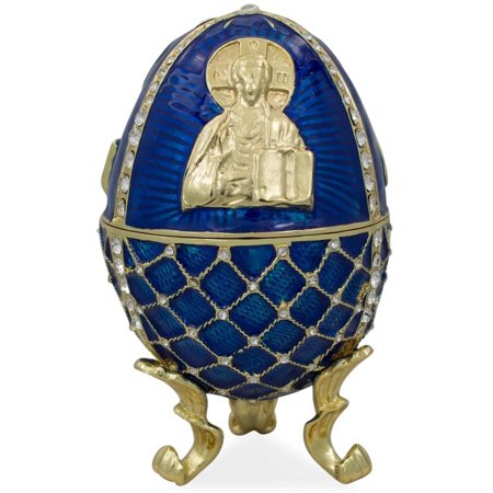 Jesus Icon (Jesus the Savior Icon Royal Inspired Russian Egg)