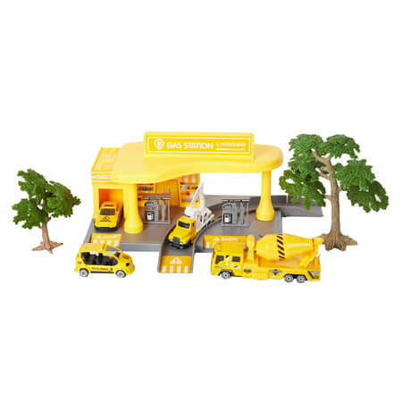 KARMAS PRODUCT Gas Station Playset educational Toys for Kids