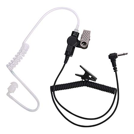 Earpiece Receiver - COISOUND Two Way Radio Earpiece Noise Canceling Transparent Security Headset Walkie Talkie Headphone 3.5mm pin Receiver/Liste