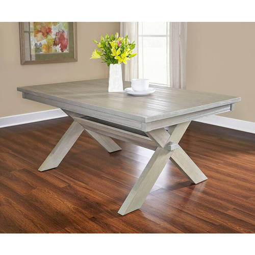 Powell Turino Rectangle Dining Table, Grey