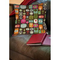 Thumbprintz Trees and Flowers Indoor Pillow