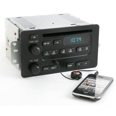 (Chevy Cavalier 2000-2005 Malibu AM FM CD Player Radio w Aux iPod Input 10309459 - Refurbished)