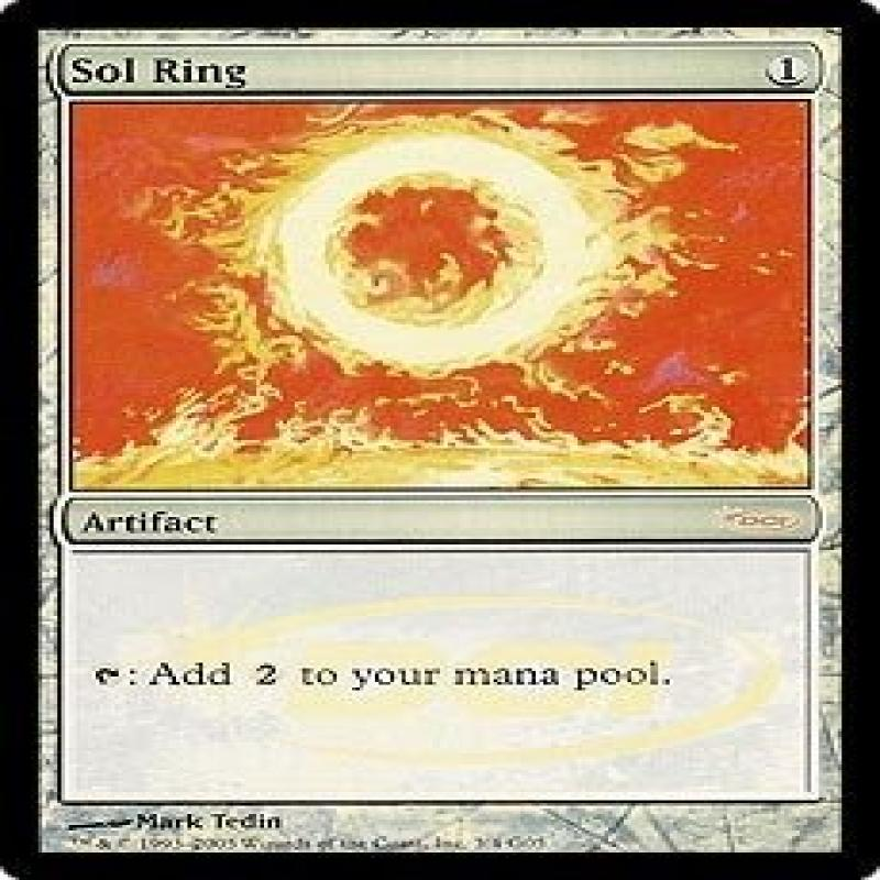 Wizards Of The Coast Magic: the Gathering - Sol Ring Foil...