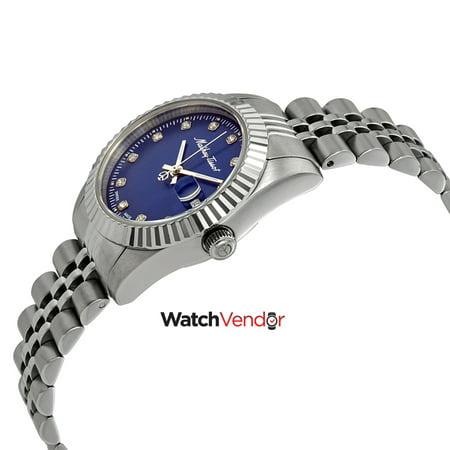 Mathey-Tissot Rolly III Crystal Blue Dial Ladies Watch D810ABU - image 1 de 3