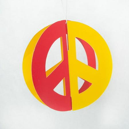 Peace Sign Hanging Cutouts](Peace Sign Cutouts)
