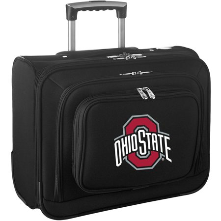 Wheeled Computer Case Overnighter (Denco NCAA Wheeled Laptop Overnighter, Ohio)