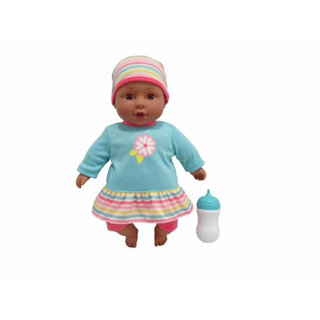 Cuddly Sweet (My sweet love 12.5in cuddly baby with sound (brown eyes) - teal /)