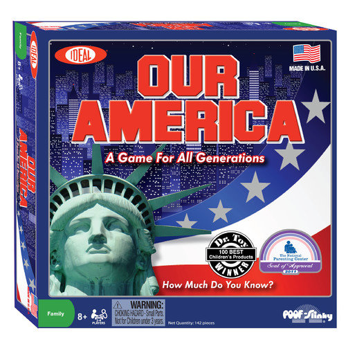 POOF-Slinky, Inc Ideal Our America Game