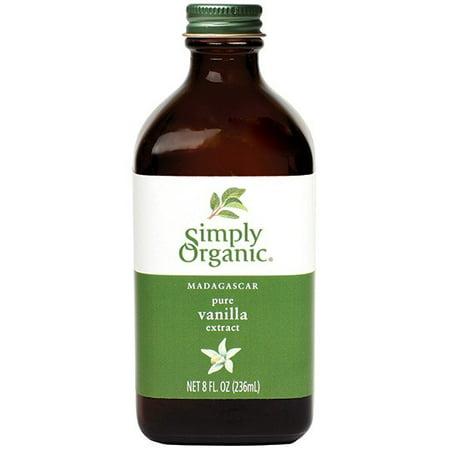 Simply Organic Vanilla Extract, Certified Organic, 8 Oz