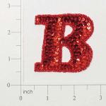 Expo Int'l Letter B Sequin Applique