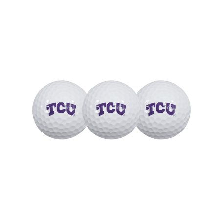 Tcu Horned Frogs Golf (Team Effort TCU Horned Frogs Golf Balls, 3)