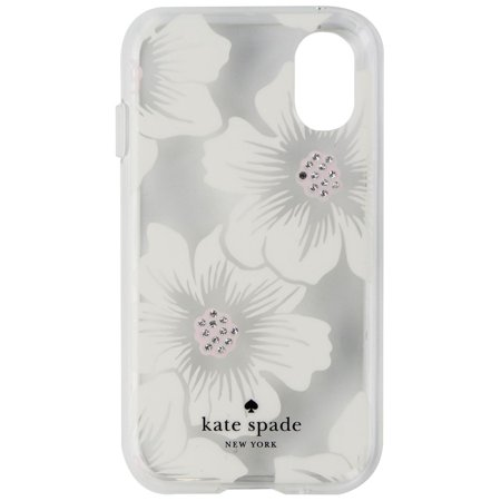 Kate Spade Hardshell Case for Palm Smartphone - Clear/Hollyhock Floral/Gems