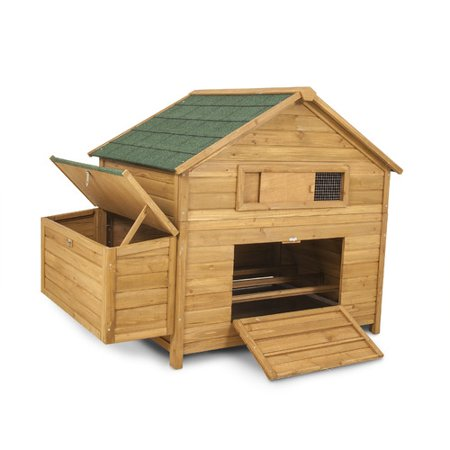 Petmate Chicken Fort High Capacity Coop with 3 Roosting Bar