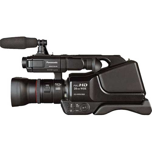 "Panasonic AGAC8PJ Professional HD Shoulder-Mount Camcorder W  3"" Touchscreen LCD Screen And Intelligent... by Panasonic"