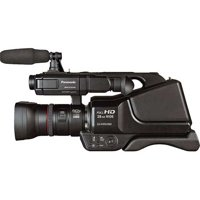 """Panasonic AGAC8PJ Professional HD Shoulder-Mount Camcorder W/ 3"""" Touchscreen LCD Screen And Intelligent Resolution Technology"""