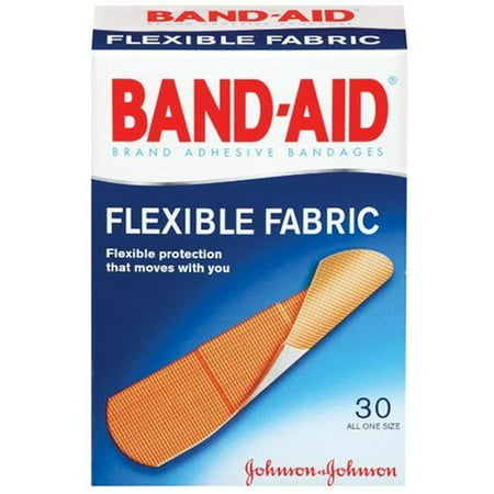 3 Pack - BAND-AID Bandages Flexible Fabric All One Size 30 Each