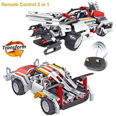engineering toys robot rc car building kit, construction ...