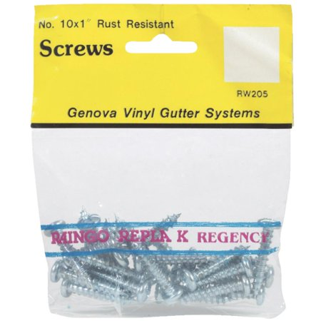 Genova Products 25/Bag Rustproof Screws RW205 Factory Team Aluminum Screw