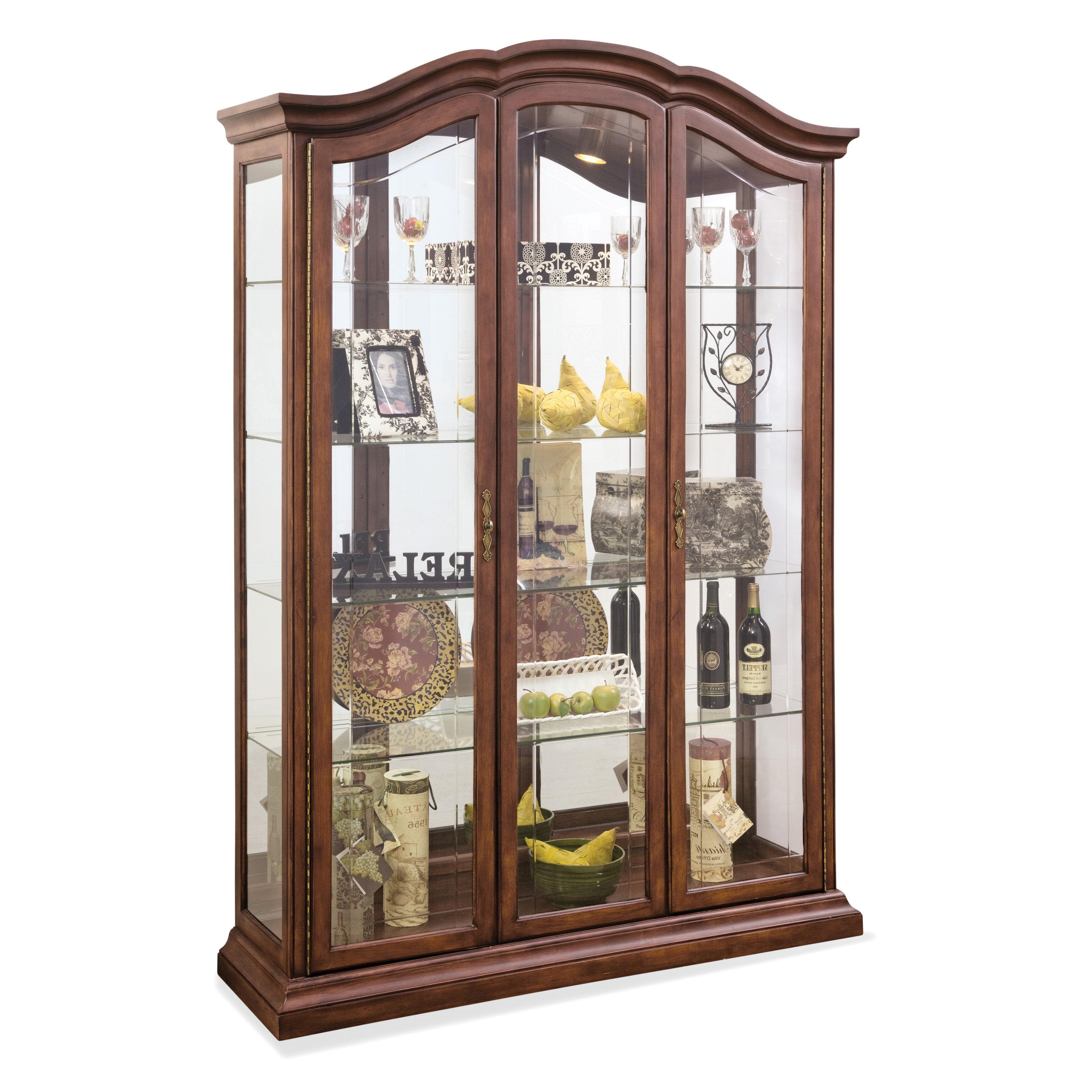 Philip Reinisch Co Lighthouse Oxford Curio Cabinet Walmart