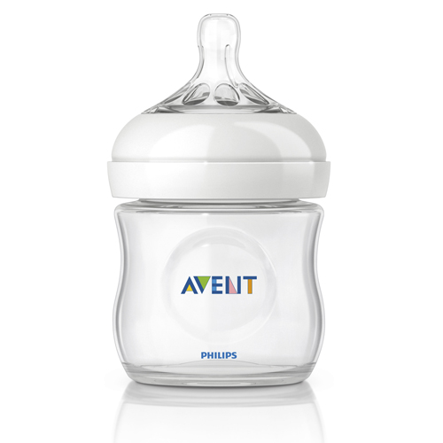 Philips Avent Natural Glass Bottle, 1 Count, 4 Ounce