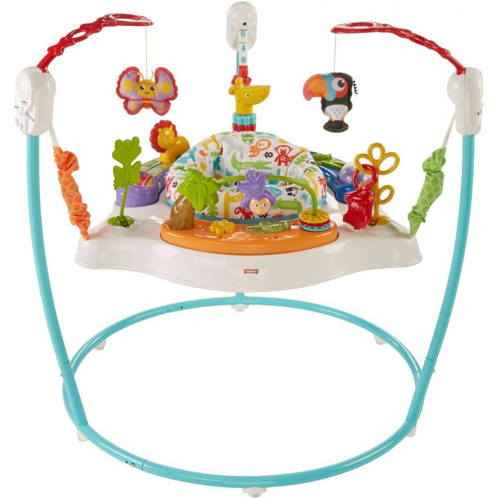 Fisher Price Animal Activity Jumperoo by Fisher-Price