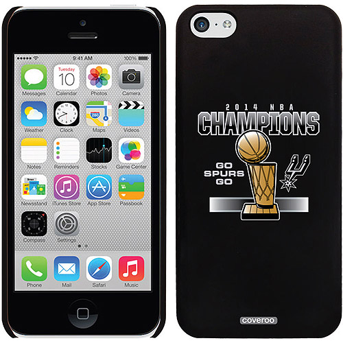 San Antonio Spurs Champions 2014 2 Design on Apple iPhone 5c Thinshield Snap-On Case by Coveroo