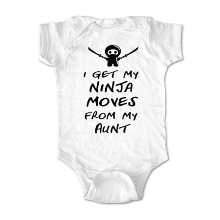 i get my ninja moves from my aunt wallsparks cute funny brand