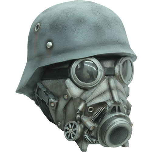Chemical Warfare Latex Mask Adult Halloween Accessory