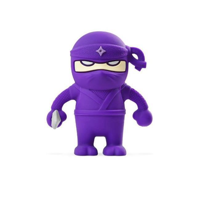 Bone Collection D14071PU 16 GB Purple Ninja Dual USB Driver