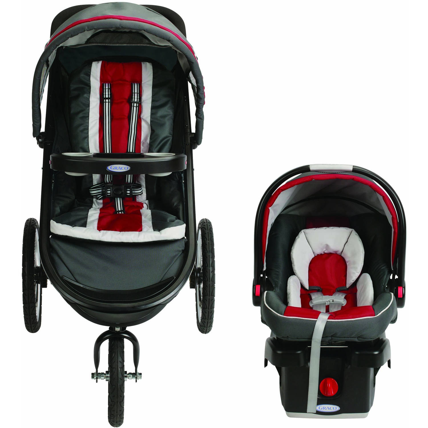 Graco FastAction Fold Jogger Click Connect Travel System Jogging ...