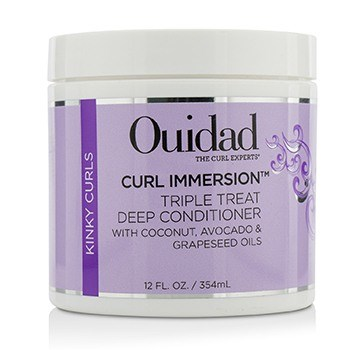Ouidad Curl Immersion Triple Treat Deep Conditioner (kinky Curls)  354ml/12oz