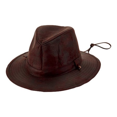 Men's San Diego Hat Company Faux Suede Fedora with Chin Cord CTH8053 Brown One Size (21)](Suede Fedora)
