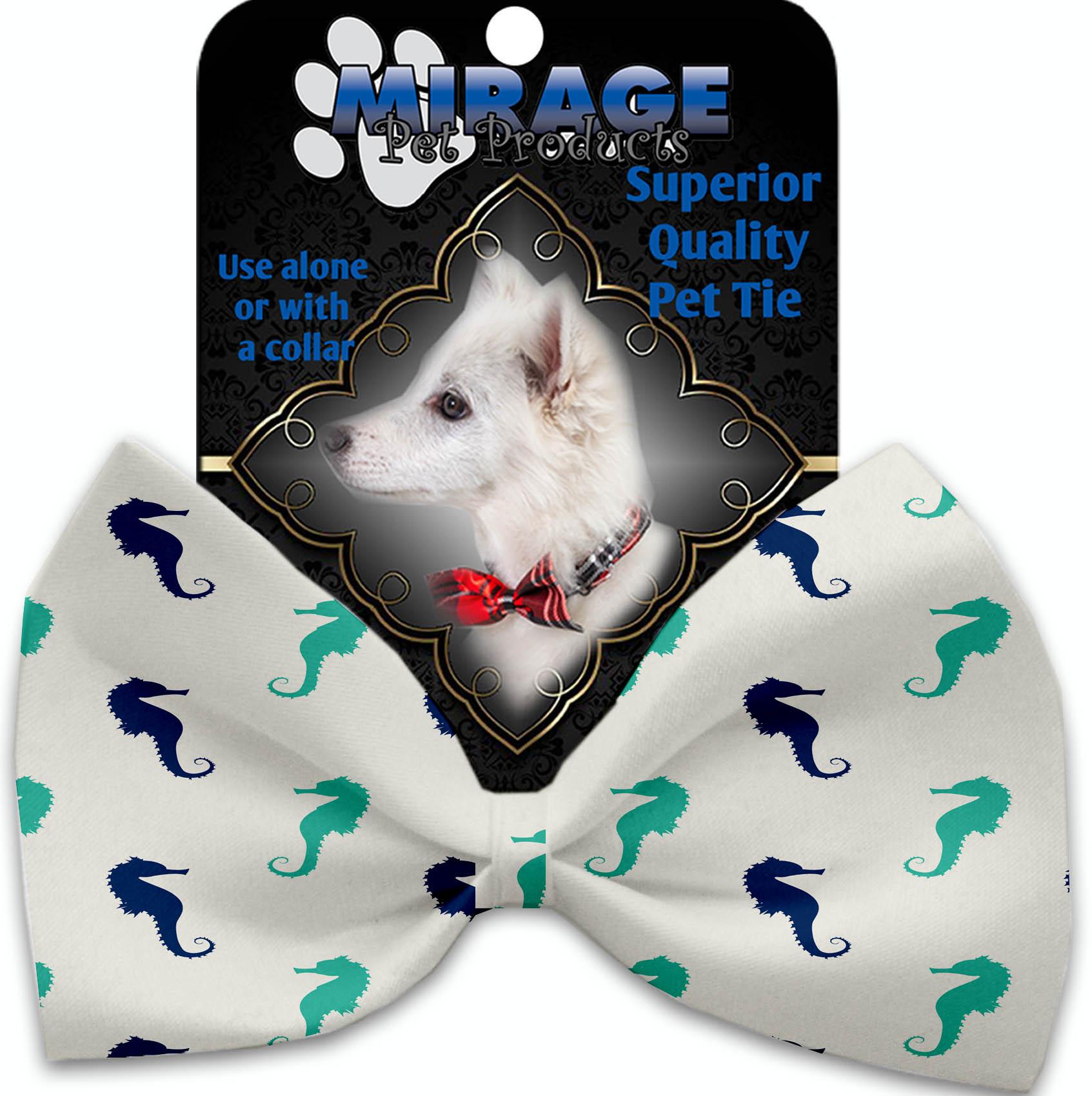 Seahorses Pet Bow Tie