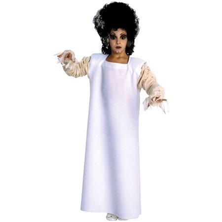 Child's Bride of Frankenstein Classic Halloween Sized Girls Halloween Costume](Frankenstein's Bride Halloween)