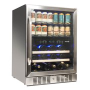 Best Beverage Coolers - NewAir AWB-400DB Dual Zone Wine/Beverage Cooler and Refrigerator Review