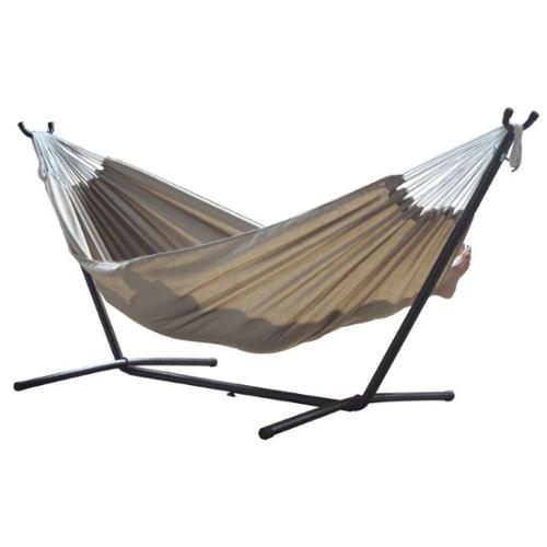Vivere Ltd. Sunbrella Hammock with Stand