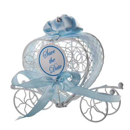 1pc New Candy Boxes Romantic Carriage Sweets Chocolate Box Wedding Party Favors ()