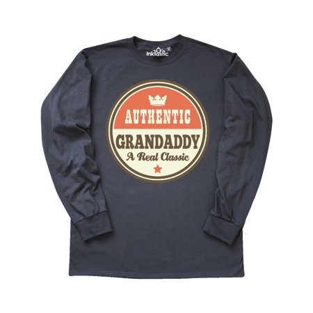Grandaddy Vintage Fathers Day Gift Idea Long Sleeve T-Shirt ()