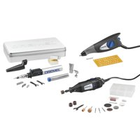 Dremel 2290 3-Tool Maker Kit - Rotary Tool, VersaTip Soldering Torch, and Dremel Engraver with 32 Accessories and Carrying Case