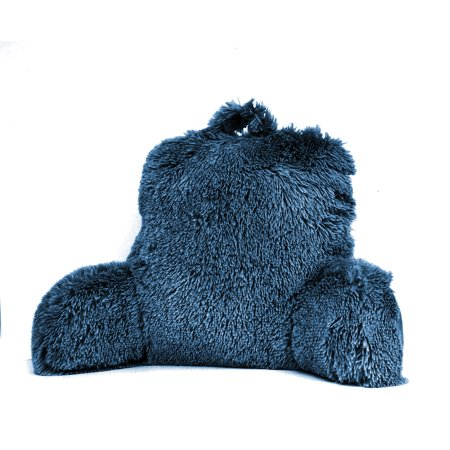 Mainstays Long Hair Faux Fur Backrest Pillow Walmart Com