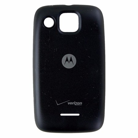 Black Replacement Battery Door - Motorola Citrus (WX445) OEM Replacement Battery Door Back Cover - Black (Refurbished)